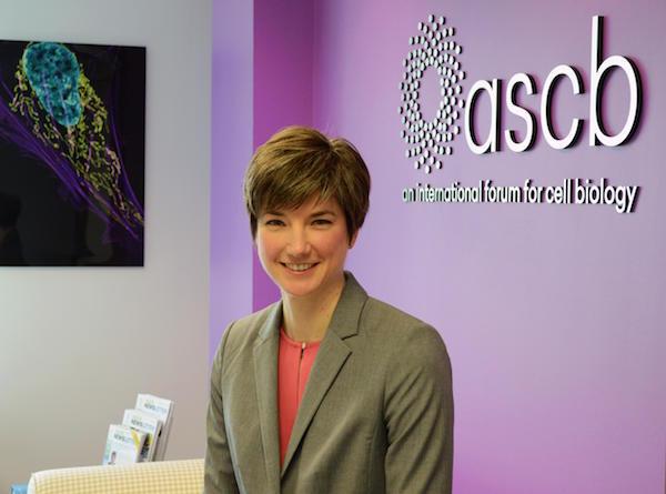 ASCB Executive Director Erika Shugart