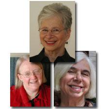 Sandra K. Masur (top), Abigail Stewart (left), and Virginia V. Valian